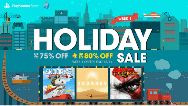 Playstation Store's Holiday Sale