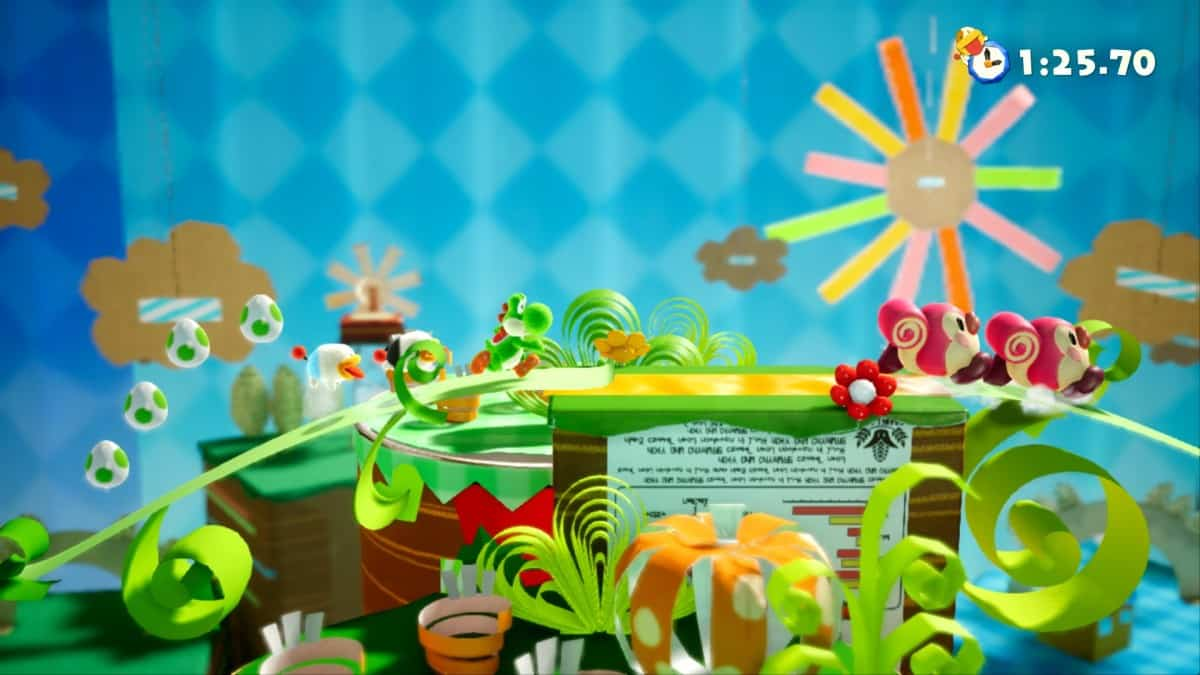 How to Unlock Hidden Hills and Secret Boss in Yoshi's Crafted World