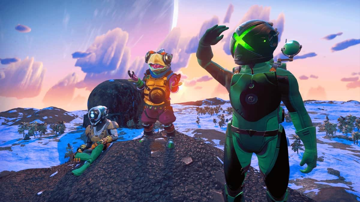 No Man's Sky Update 2.50 Announced, Crossplay And Game Pass